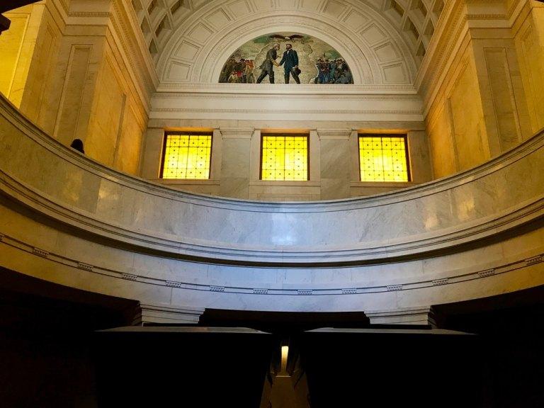 Building interior of Grant's Tomb