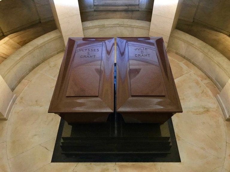 Sarcophagi of Ulysses S. Grant and Julia Grant