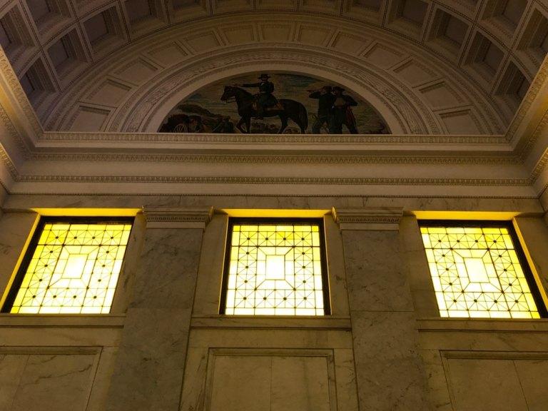Windows in Grant's Tomb