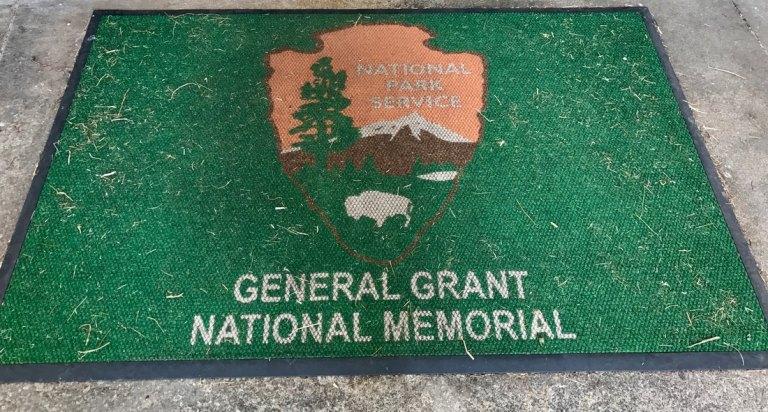 General Grant National Memorial entrance mat