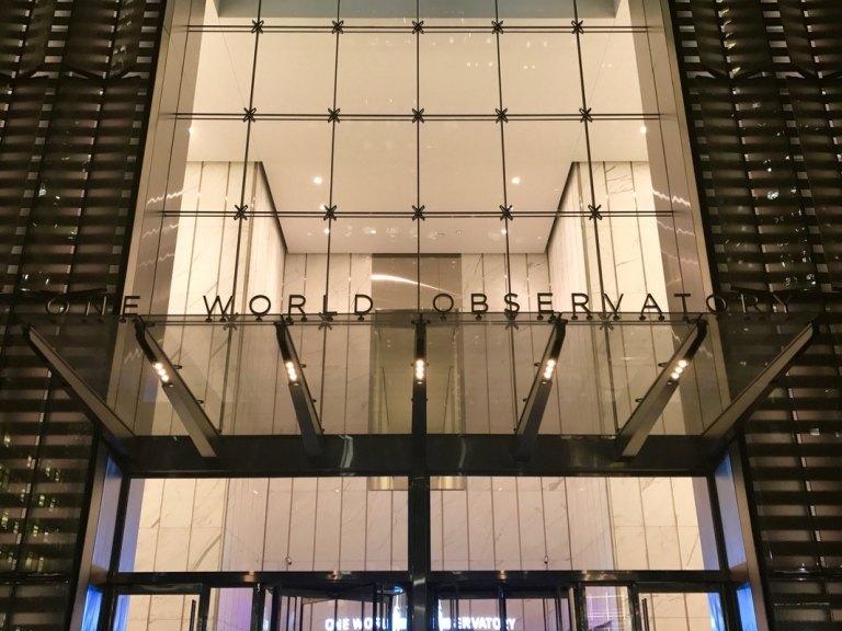 One World Observatory entrance