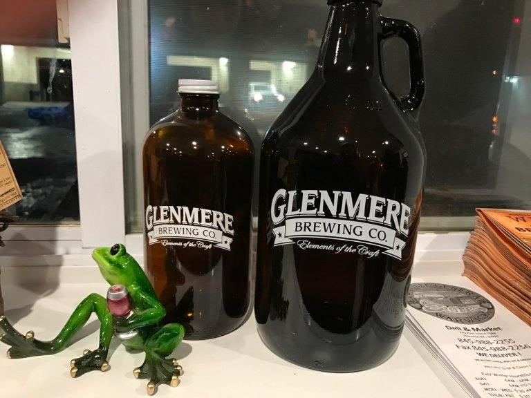 Growlers at Glenmere Brewing Company