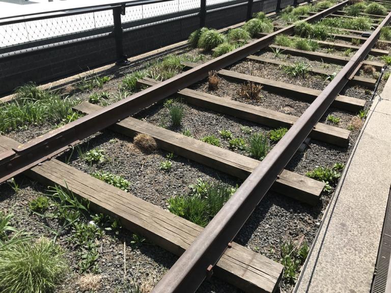 Tracks on the High Line